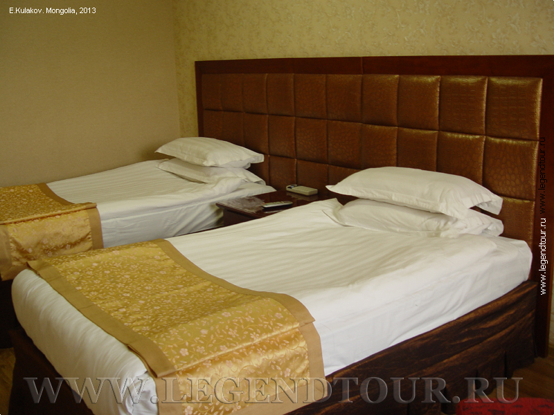 Pictures. Decor hotel 3*. Ulaanbaatar. Mongolia.