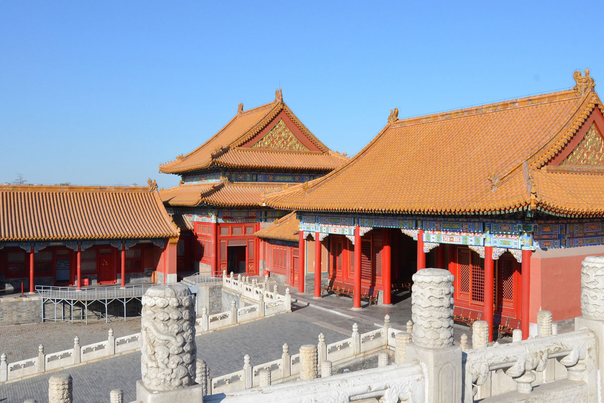 Photo. Forbidden City. Beijing. China.