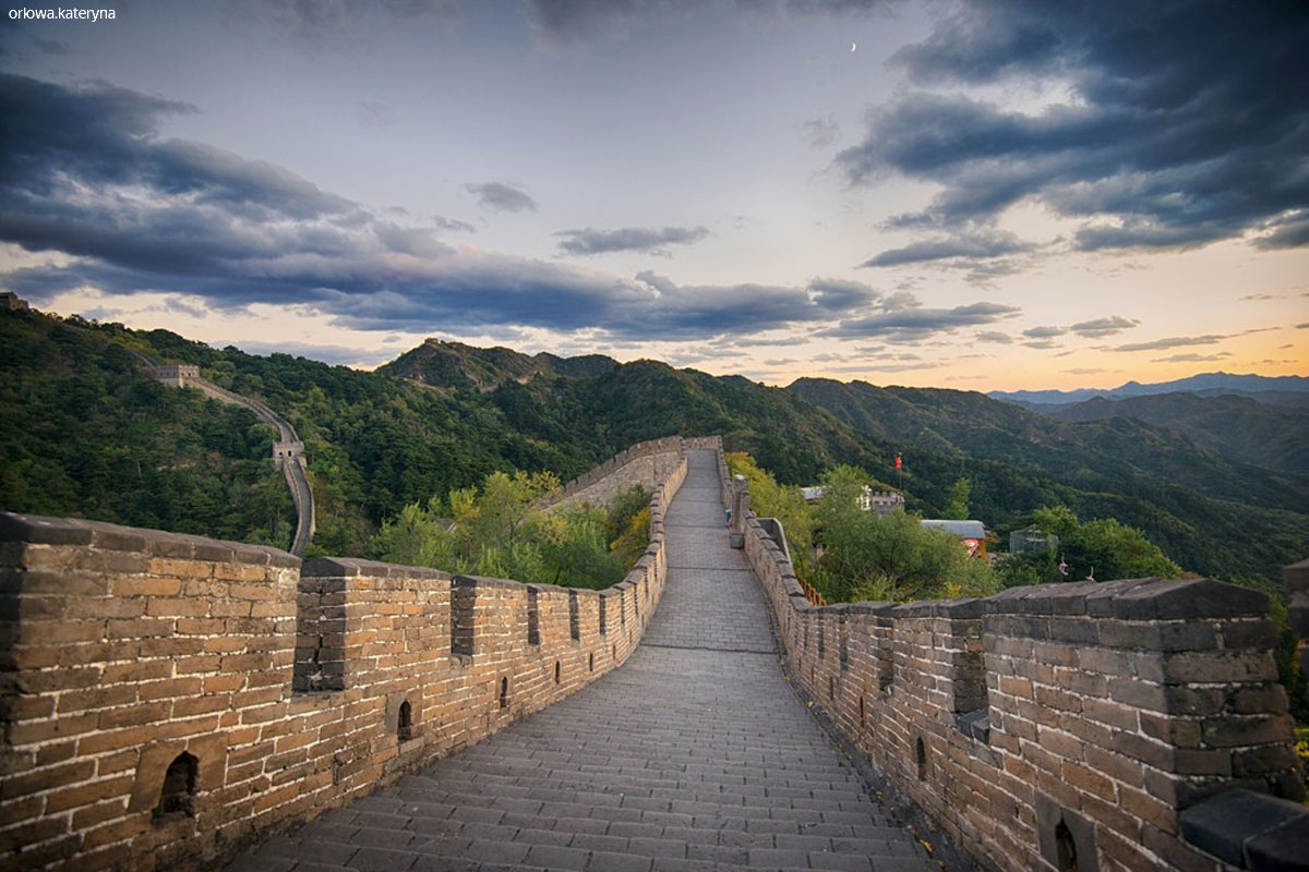 Photo. Great Wall. August 2006. China.