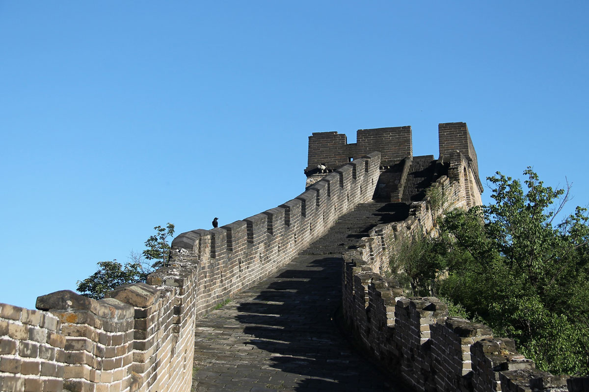 Photo. Great Wall. China.