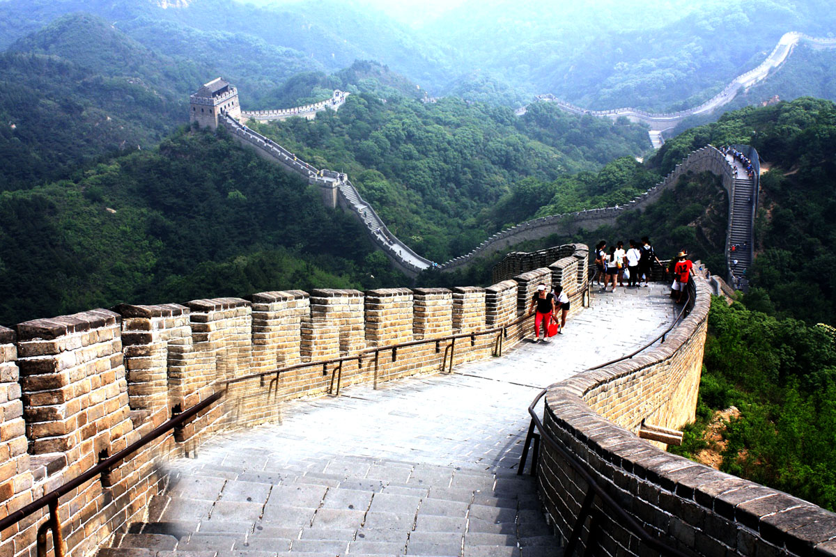 Photo. The Great Wall at Jinshanling. China.